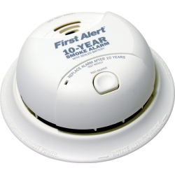 FIRST ALERT 10 YEAR SEALED LITHIUM SMOKE DETECTOR SA340B. Click on photo for price breaks.
